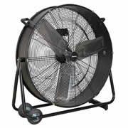 "Sealey HVD30 Sealey 30"" High Velocity Drum Fan 240v"