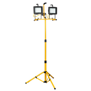 Sealey LED130TD Sealey 260 LED Double Tripod Lights 240V