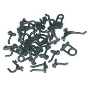Sealey S0766 30 Piece Hook Assortment for Composite Pegboard