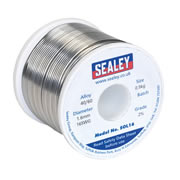 Sealey SOL16 Solder Wire Quick Flow 1.6mm