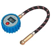Sealey TST/PG981 Sealey Tyre Pressure Gauge Digital with Leader Hose & Quick Release