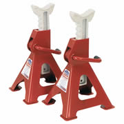 Sealey VS2003 Axle Stands Ratchet Type 3 Tonne Capacity (Pair)