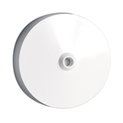 Selectric LG1735 Selectric Ceiling Rose Clear Base 3 Term & Earth With Flex Strain