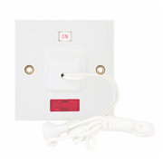 45A Ceiling Switch 1 Way Double Pole With Neon