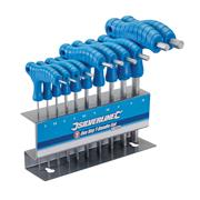 Silverline 323710 Hex Key T-Handle 10 Piece Set 2-10mm