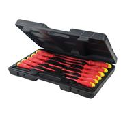 Silverline 918535 Insulated Soft-Grip Screwdriver 11 Piece Set