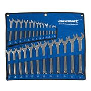 Silverline SP100 Combination Spanner 6 -32mm 25 Piece Set