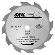 Skil 26010393614 Masters 190mm Tungsten Carbide Tipped Blade (Coarse Cut)
