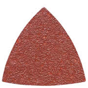 Smart SS08005 Smart Trade Triangular Sanding Sheets 80 Grit (Pack of 5)