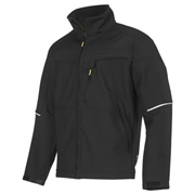 Snickers 12120400 Snickers Soft Shell Work Jacket (Black)