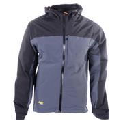 Snickers 13035804 Waterproof Soft Shell Jacket - Grey