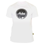 Snickers 25020900 Classic Logo T-Shirt - White