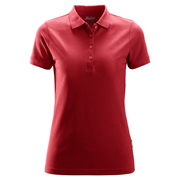 Snickers 27021600 Women's Polo Shirt - Red
