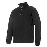 Snickers 28130400 Snickers Heavy Zipped Sweatshirt (Black)