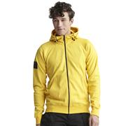 Snickers 28800600 Logo Full Zip Hoodie - Yellow