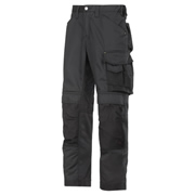 Snickers 32110404 Snickers CoolTwill Trousers With Holster Pockets (Black)