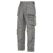 Snickers 32111818 Snickers CoolTwill Trousers With Holster Pockets (Grey)