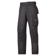 Snickers 33130404 Snickers Rip-Stop Craftsmen Trousers (Black)