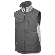 Snickers 45280418 Snickers Rip Stop Winter Vest - Black/Grey