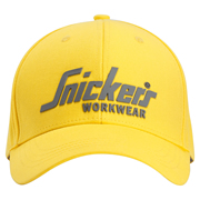 Snickers 90410604000 Logo Cap Yellow One Size
