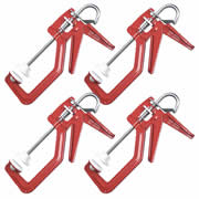 Solo SOL150PK4 Solo One Handed Clamp (150mm) Pack of 4