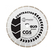 Spectrum CGS-115/22 Spectrum Contractor 115mm/22.23mm CGS Diamond Blade - Pack of 3