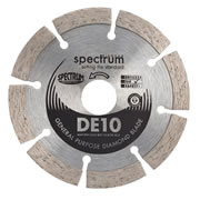 Spectrum DE10-115/22 Spectrum Standard 115mm/22.23mm General Purpose Diamond Blade