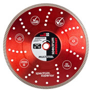 Spectrum TX10R-115/22 Spectrum Superior Turbo 115mm/22.23mm Diamond Blade Multi-Steel