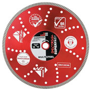 Spectrum TX10R-230/22 Spectrum Superior Turbo 230mm/22.23mm Diamond Blade Multi-Steel