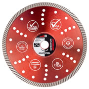 Spectrum TX10R-350/20 Spectrum Superior Turbo 350mm/20mm Diamond Blade Multi-Steel