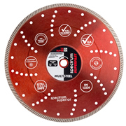 Spectrum TX10R-350/25 Spectrum Superior Turbo 350mm/25.4mm Diamond Blade Multi-Steel
