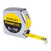 Stanley 0-33-158 Stanley Powerlock Tape 5m/16ft