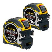 Stanley 033503PK2 Fatmax Autolock Tape Measure 5m/16' - Pack of 2
