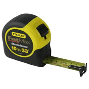 Stanley 0-33-805 Stanley Fat Max Tape 10m/33ft