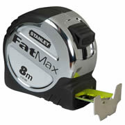 Stanley 033892 FatMax Tape Measure 8m Metric