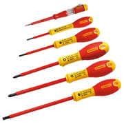 Stanley 065443 Stanley FatMax 6 Piece Insulated Screwdriver Set