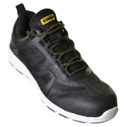 Stanley 10019159 Stanley Harlem Safety Trainer - Black/Grey