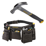 Stanley 1804410 Stanley Tool Apron & Claw Hammer Kit