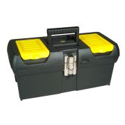 "Stanley 1-92-065 16"" Metal Latch Toolbox"