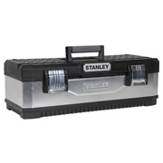 Stanley Galvanised Tool Box (26'')