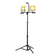 Stanley 31332ETR Stanley 240v Double Head LED Worklight & Tripod