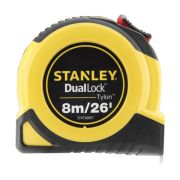 Stanley 368070 Tylon Duallock Tape Measure 8m/26ft