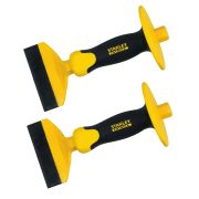 Stanley 4-18-328 Stanley FatMax 100mm/4'' Brick Bolster - Pack of 2