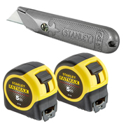 Stanley 5MTBPACK 5m Fatmax Metric Twinpack with Knife