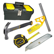 Stanley 6PHTKIT 6 Piece Tool Kit with Stanley Tool Case