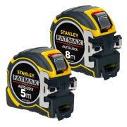 Stanley FAPK Fatmax Autolock Tape Measure 8m/5m Metric Pack