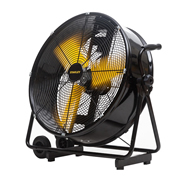 Stanley ST24DCTE 24'' Industrial High Velocity Floor Drum Fan