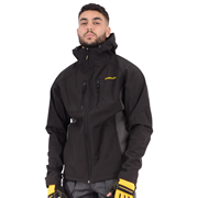 Stanley SXWG114EBK Austin Soft Shell Hooded Jacket - Black