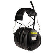 Stanley SY360 Stanley AM/FM Radio Ear Defenders 31DB SNR