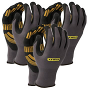 Stanley SY510LPK3 Stanley Razor Gripper Gloves Pack of 3